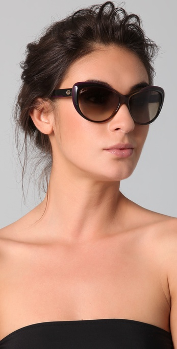 55f6fcf47b7 Gallery. Previously sold at  Shopbop · Women s Cat Eye Sunglasses