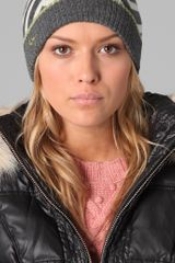 Juicy Couture Williams Rugby Stripe Skull Cap - Lyst