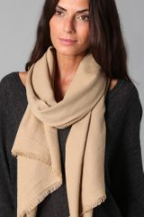 Love Quotes Eyelash Fringe Scarf - Lyst