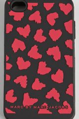 Marc By Marc Jacobs Wild Hearts 4g Iphone Case - Lyst