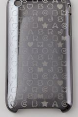 Marc By Marc Jacobs Metallic Stardust Logo 3g Iphone Cover - Lyst