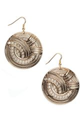ModCloth Circle Unbroken Earrings - Lyst
