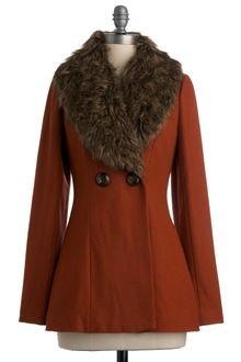 ModCloth Auburn Brightly Coat - Lyst