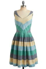 ModCloth Beach House Barbecue Dress in Hoedown - Lyst