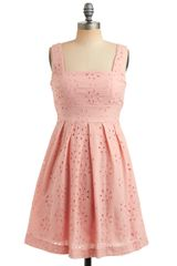 ModCloth One Scoop Dress in Strawberry - Lyst