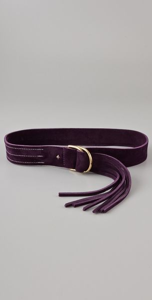 Rag & Bone Wittig Belt - Aubergine in Purple (aubergine) - Lyst