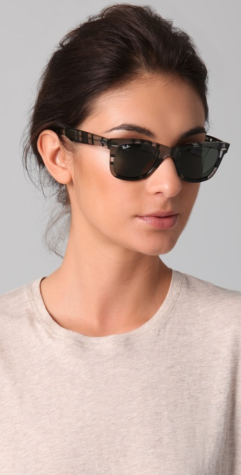 9c9779b9ad Lyst - Ray-Ban Wayfarer Sunglasses in Gray