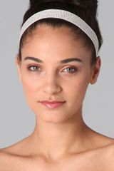 Reem Acra Crystal Headband / Belt - Lyst