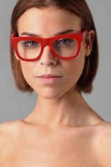 Super Sunglasses Ciccio Glasses in Red - Lyst