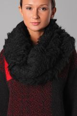 Viktor & Rolf Furry Neck Warmer