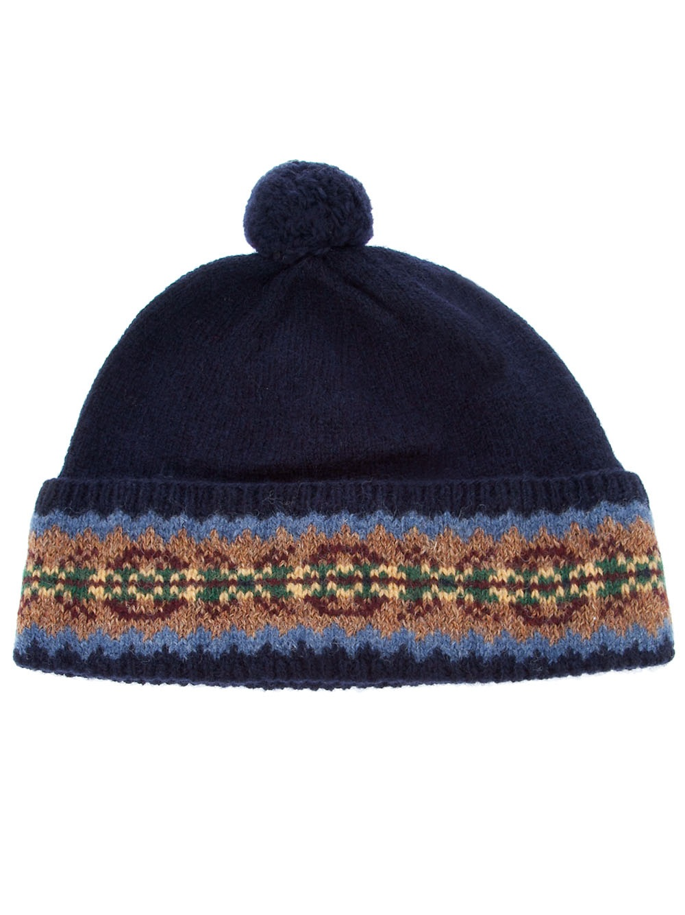 Ralph Lauren Bobble Hat In Gray For Men Lyst