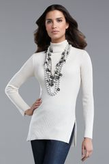 St. John Collection Knit Turtleneck - Lyst