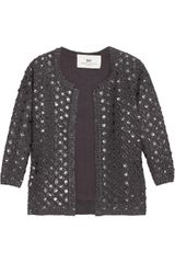 Day Birger Et Mikkelsen Aspire Sequined Wool-blend Cardigan - Lyst