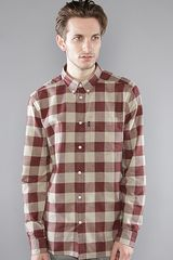 Wesc The Aldo Buttondown Shirt in Eggplant - Lyst