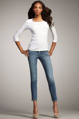 Citizens Of Humanity Thompson True Cropped Skinny Jeans - Lyst