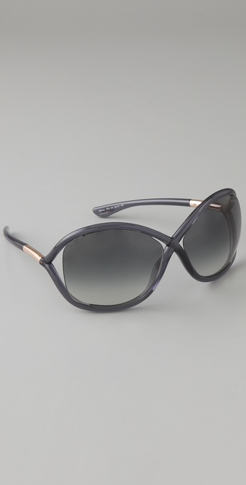 tom ford whitney sunglasses in black save 11 lyst. Cars Review. Best American Auto & Cars Review