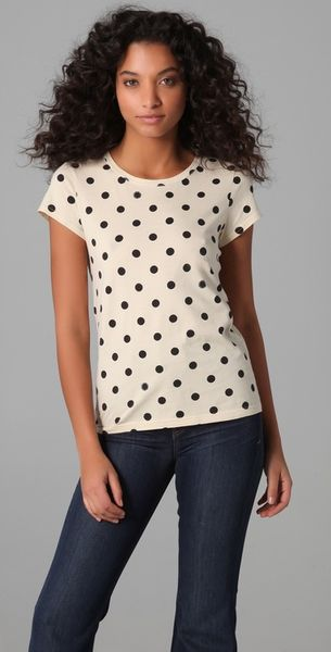 Marc By Marc Jacobs Hot Dot Tee in White (multi) - Lyst