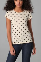 Marc By Marc Jacobs Hot Dot Tee - Lyst