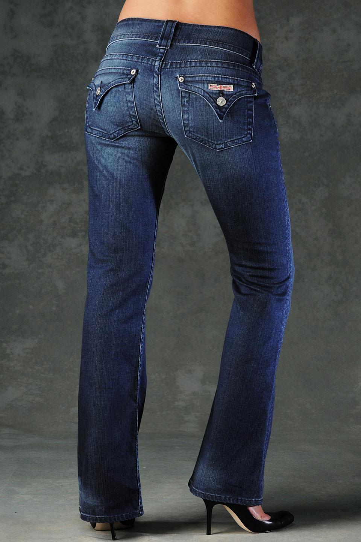 Hudson jeans Signature Bootcut Petite in Blue | Lyst