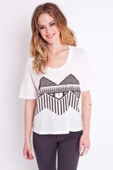 Nasty Gal Tribal Tee - Lyst