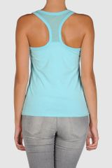 Calvin Klein Jeans Top in Blue (sky) - Lyst