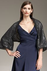 Giorgio Armani Sequined Shrug - Lyst