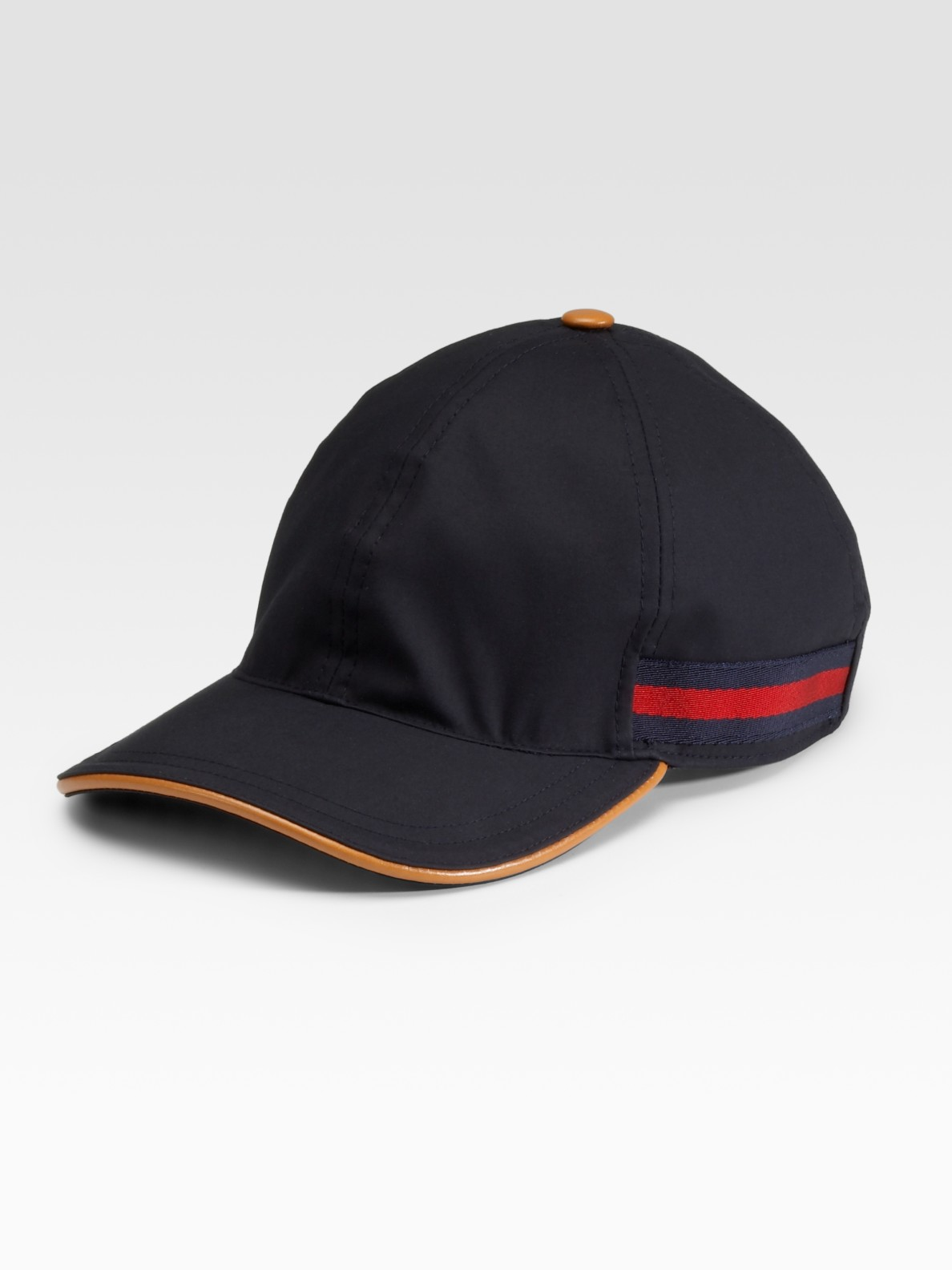 Lyst - Gucci Baseball Hat in Blue for Men ed635765a2e