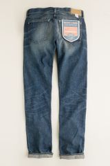 J.Crew Wallace & Barnes Slim-fit Jean in Drydock Worn Wash - Lyst