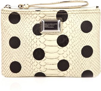 Marc By Marc Jacobs Dotty Snake Wristlet Bag - Lyst