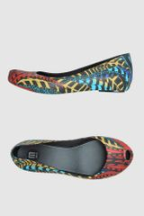 M.melissa Jeans Ballet Flats in Multicolor (red) - Lyst