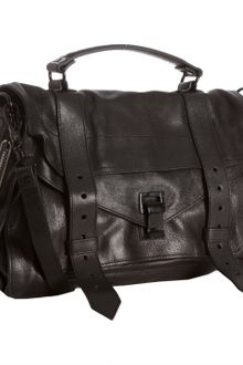 Proenza Schouler Black Leather Ps1 Medium Convertible Satchel - Lyst