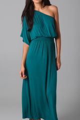 Tbags Los Angeles One Shoulder Maxi Dress - Lyst
