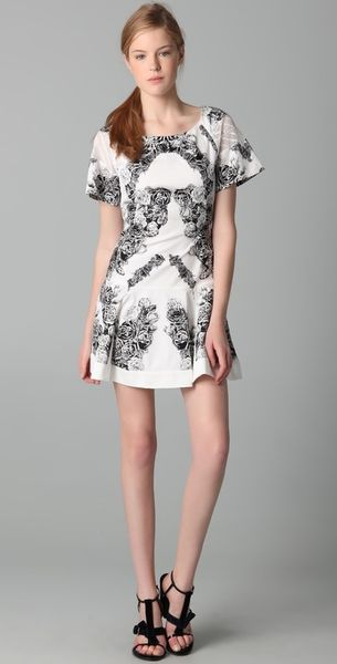 Thakoon Panel T-shirt Dress - Lyst