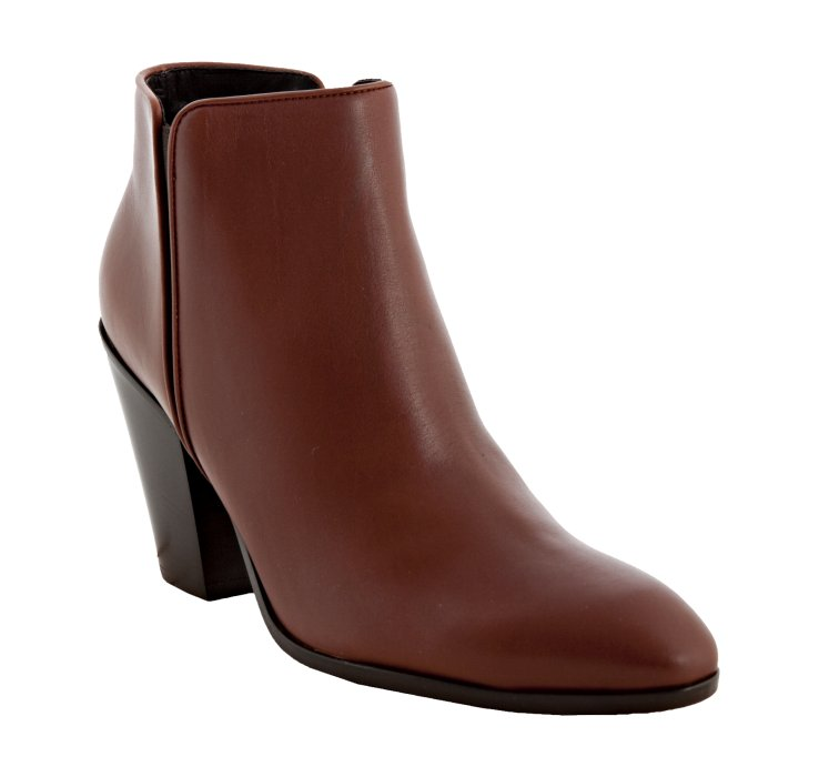 giuseppe zanotti chocolate leather ankle boots in brown