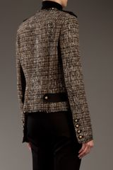 Pinko Monaco Jacket in Brown - Lyst
