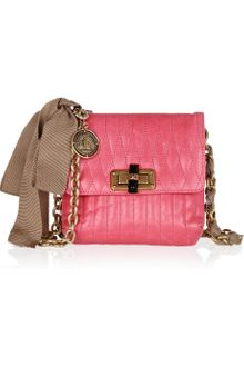 Lanvin Mini Pop Quilted Leather Shoulder Bag - Lyst