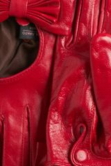 Modcloth Tirelessly Tasteful Gloves in Red - Lyst
