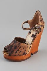 Sam Edelman Javi Cutout Wedge Sandals - Lyst