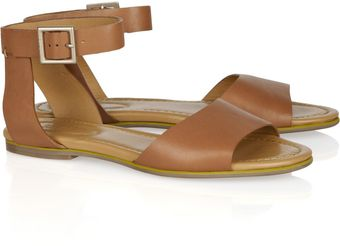 See By Chloé Leather Sandals - Lyst