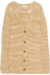 See By Chloé Open-knit Cotton Cardigan - Lyst