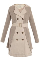 Bottega Veneta Pepper Gabardine Cotton Coat - Lyst