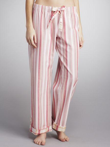 lewis pyjama pink check in pink lyst