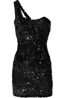 Rachel Gilbert Zaza Sequined-silk One-shoulder Mini Dress - Lyst