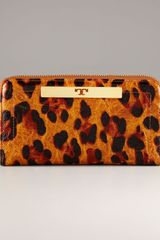 Tory Burch Ainsley Zip Continental Wallet - Lyst