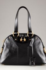 Yves Saint Laurent Medium Dome Satchel - Lyst