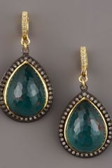 Armenta Bloodstone Drop Earrings