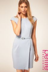 ASOS Collection Asos Petite Exclusive Wrap Dress with Belt - Lyst