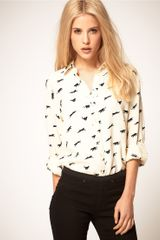 ASOS Collection Asos Shirt With Panther Print - Lyst