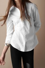 Burberry Brit Slim Fit Stretch Cotton Shirt - Lyst