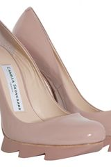 Camilla Skovgaard Blush Pink Saw Pump Stiletto